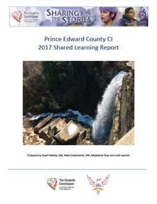 2017 Shared Learning Report Cover